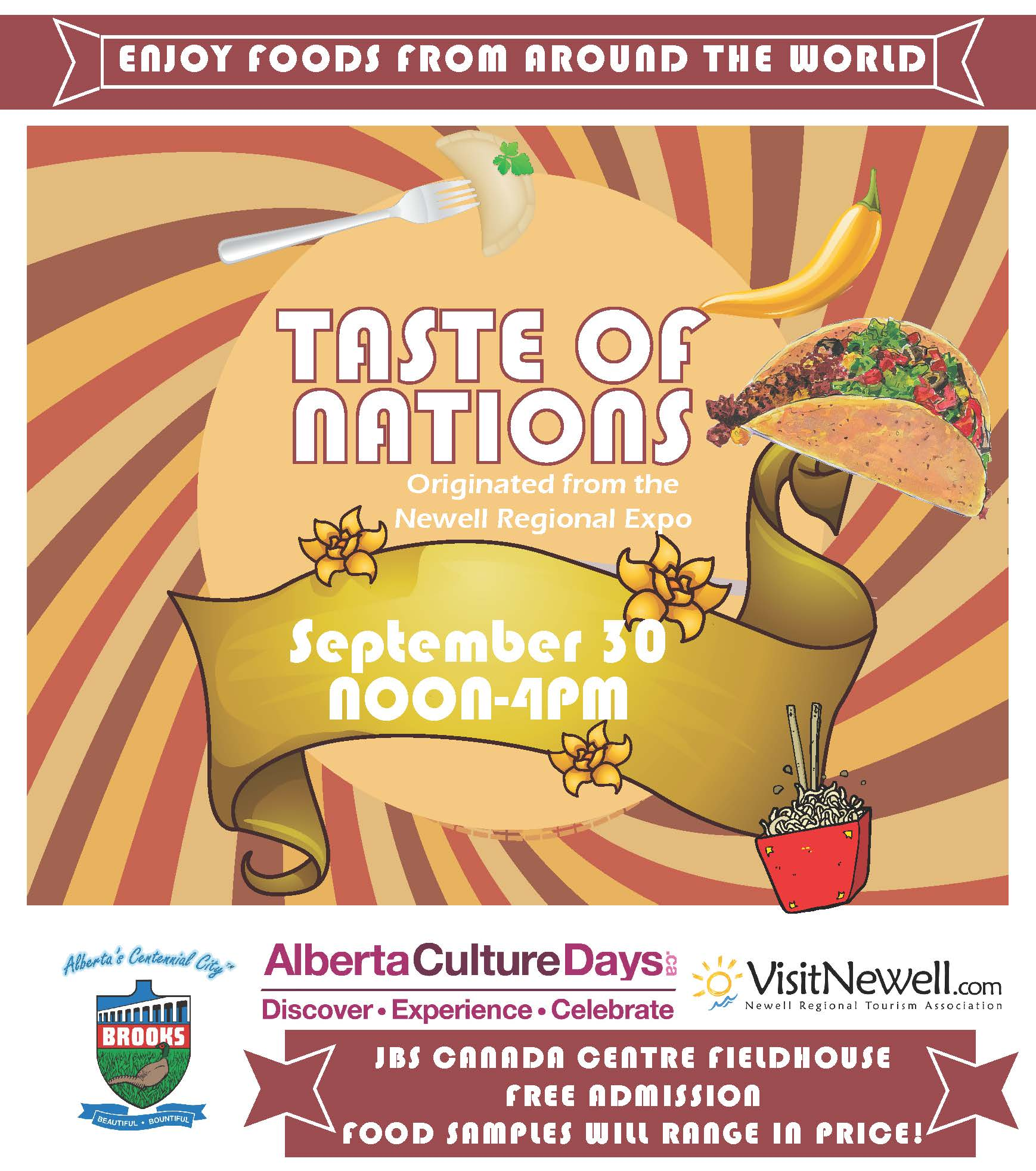 Taste of Nations AD