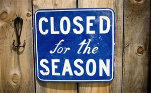 seasonal closure