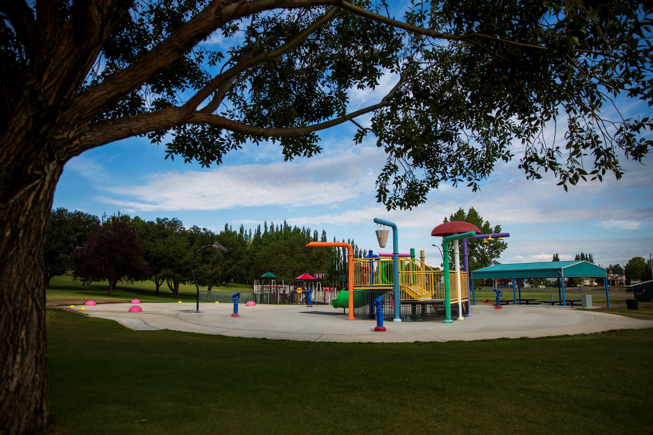 Duke of Sutherland Water Park play equipment