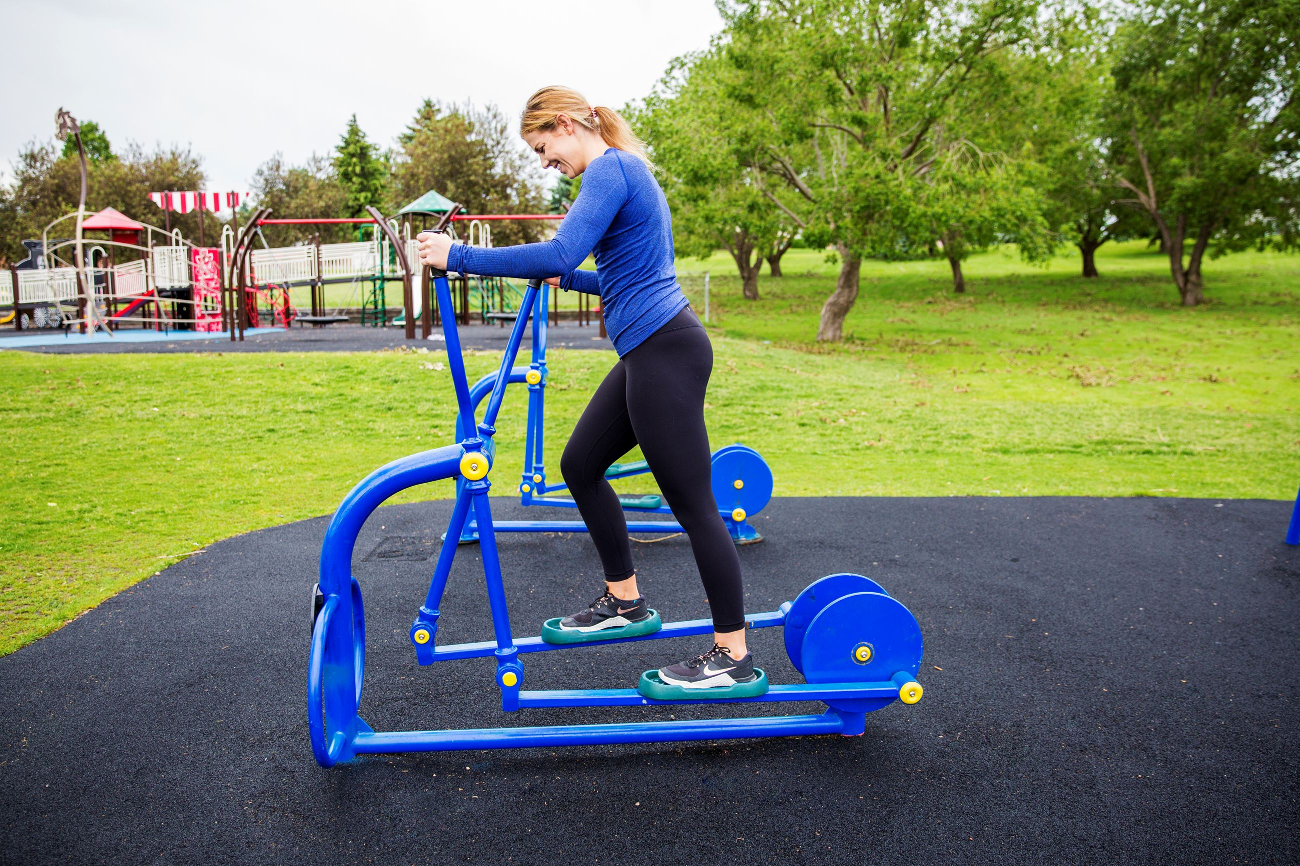 View a video demonstrating the use of the Elliptical Trainer equipment