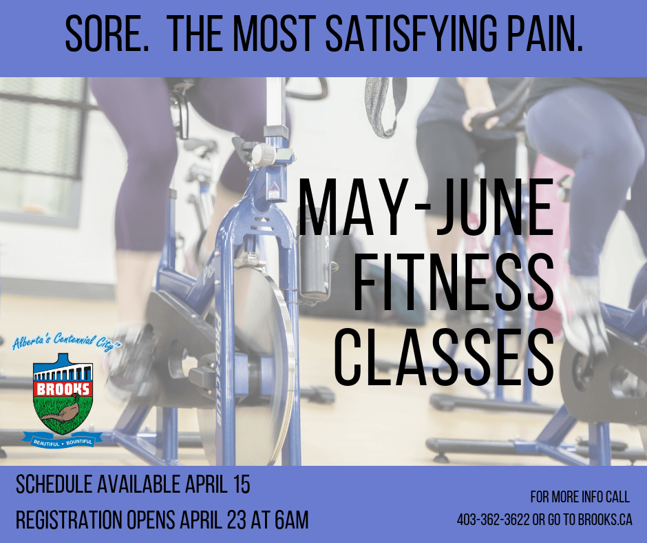 May-June fitness classes