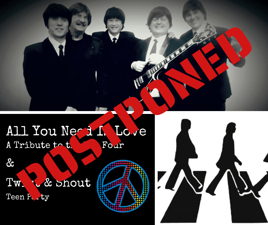 All You Need Is Love POSTPONED