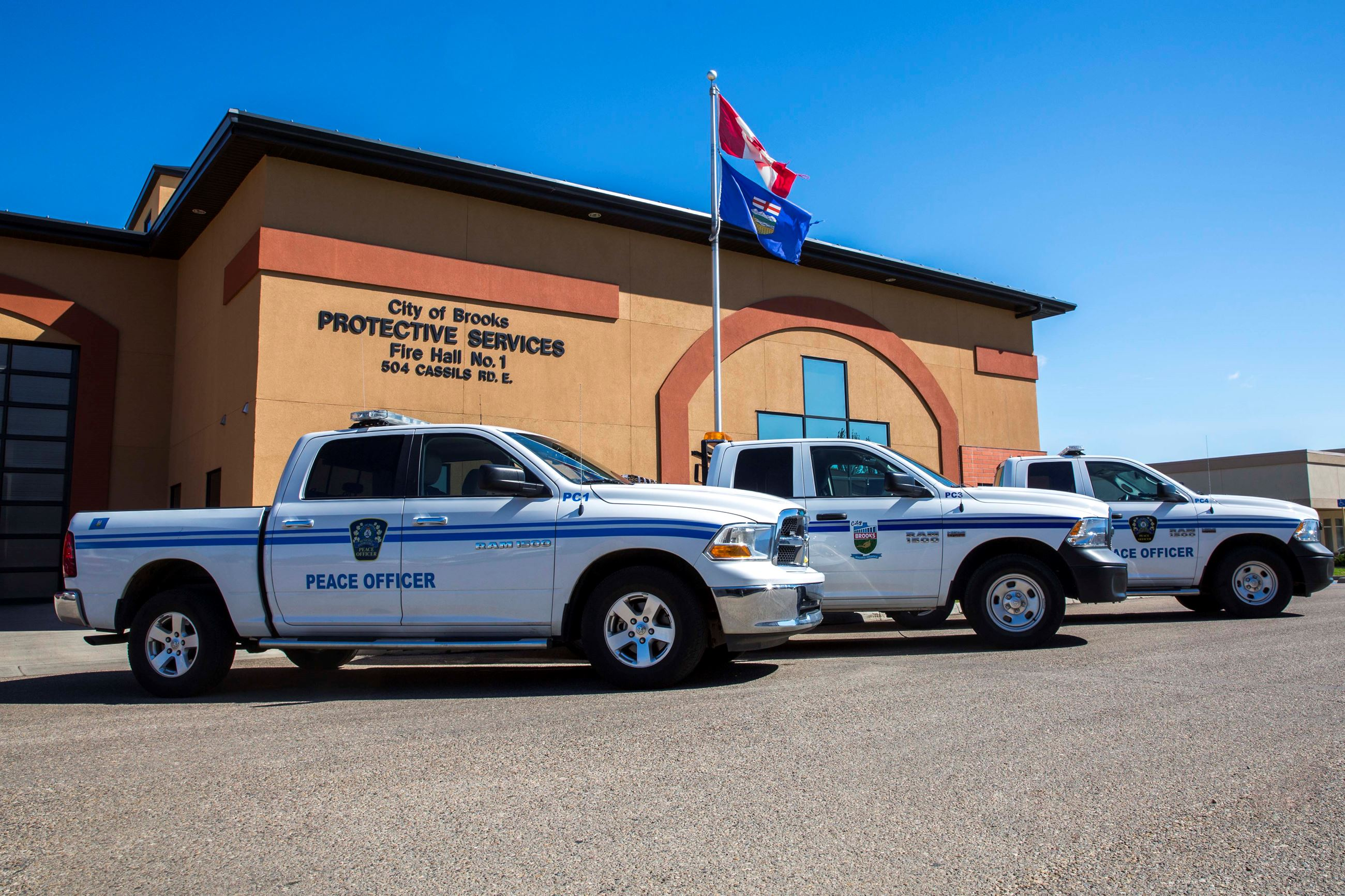 Municipal Enforcement Trucks