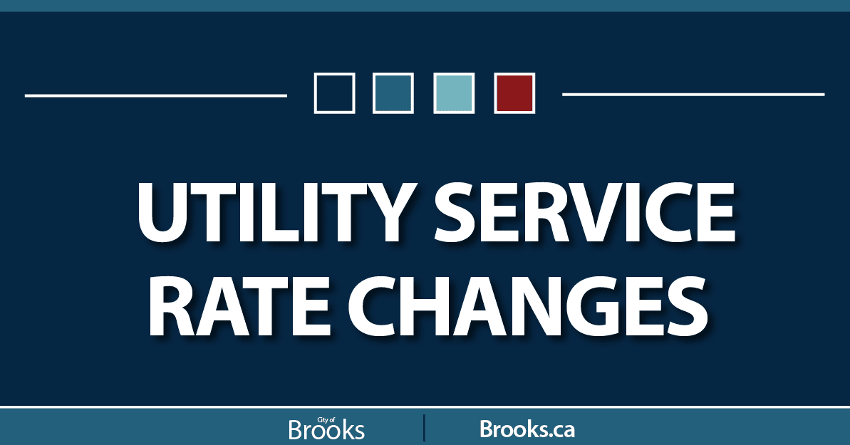 2021 Utility Service Rate Changes