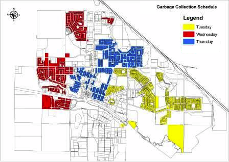 View the Residential Garbage Collection Schedule (PDF)